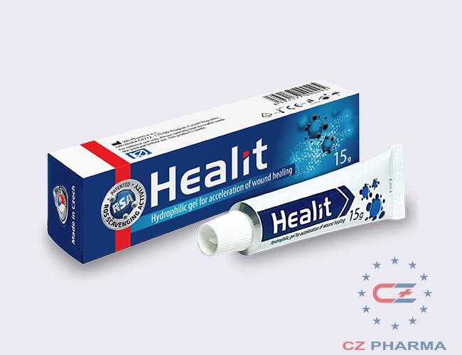 Healit gel - Đột phá trong trị liệu vết thương